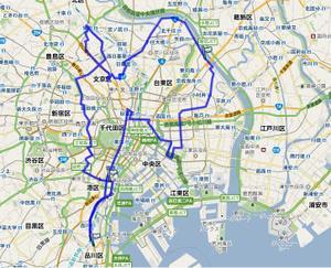 東京十社めぐり: ROAD TO ROAD